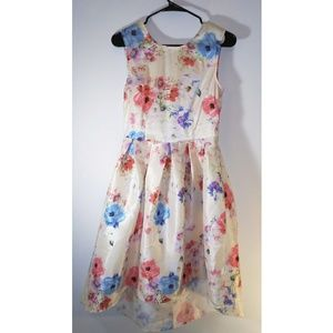 Dresses & Skirts - Sleeveless floral fishtail dress